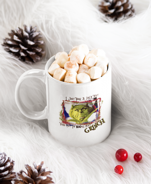 100% THAT Grinch 11oz Coffee Mug