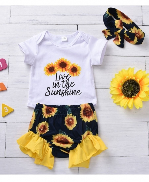 3pc Live in the Sunshine Sunflower Set