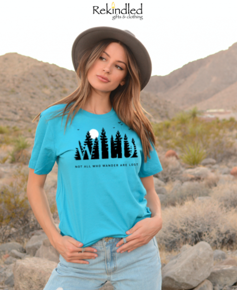 WILD - Not All Who Wander Are Lost Tee