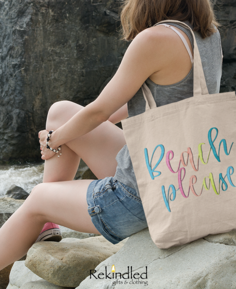 Beach Please - Tote