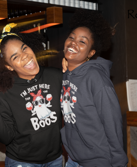I'm Just Here For The Boos Hoodie