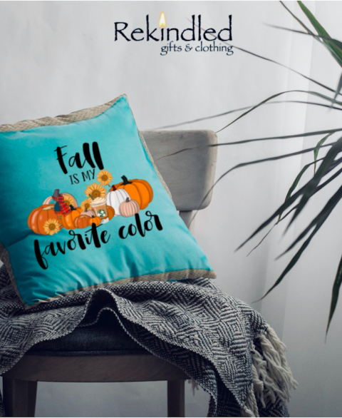 Fall Is My Favorite Color Pillow Cover