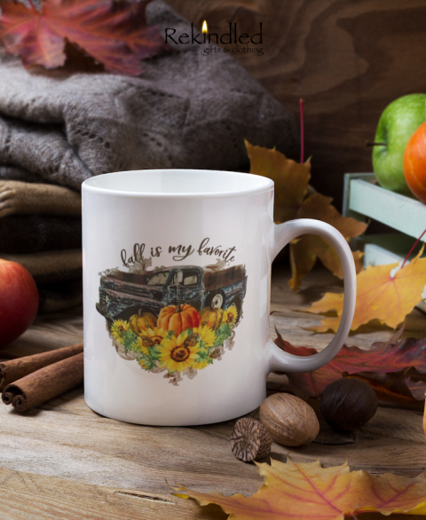 Fall is my Favorite 11oz Coffee Mug