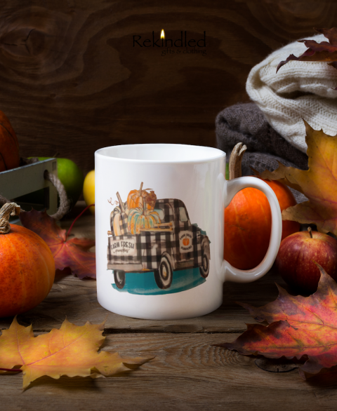 Farm Fresh Pumpkins 11oz Coffee Mug