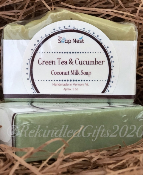 Green Tea & Cucumber Coconut Milk Soap