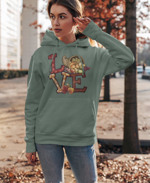 Harvest Love Hoodies