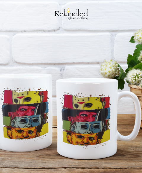 Horror Collage 11oz Coffee Mug
