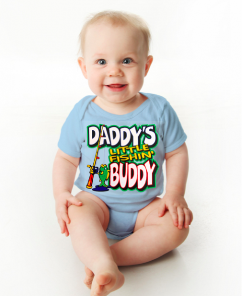 Daddy's Little Fishin' Buddy (Infant)