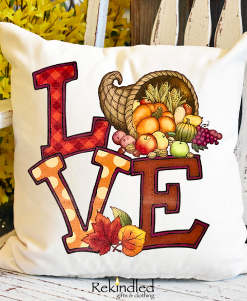 Harvest Love Pillow Cover