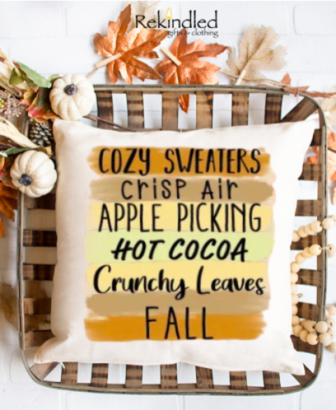 Best Things of Fall Pillow