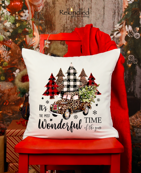 It's the Most Wonderful Time of the Year Pillow
