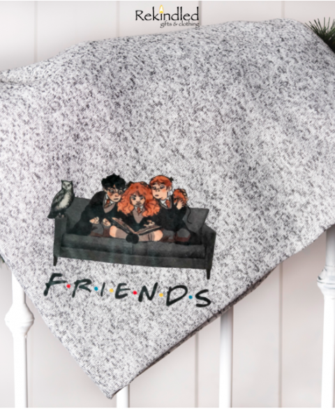 "Harry Potter ""Friends"" 50"" x 60"" Throw Blankets"