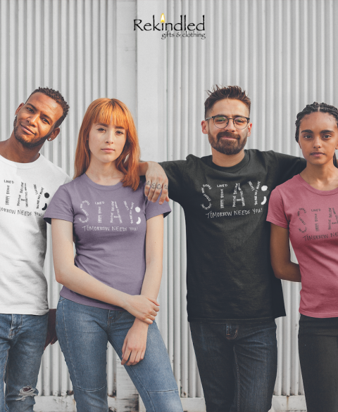 "Mental Health Awareness ""STAY;"" Tee"