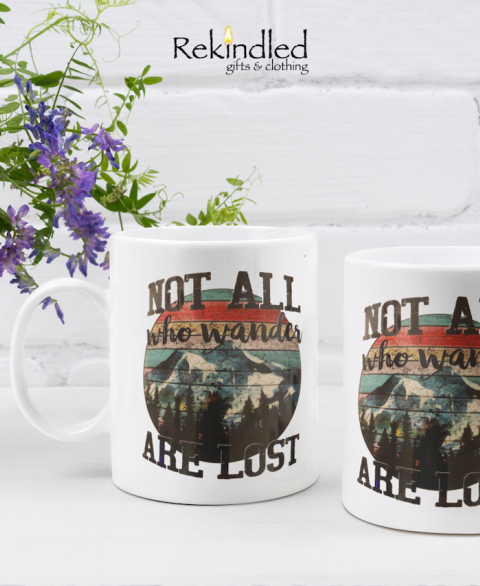 Not All Who Wander 11oz Coffee Mug