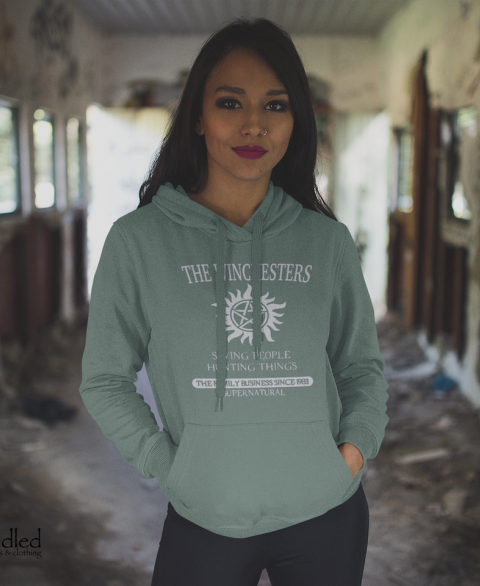 The Winchesters - Saving People, Hunting Things Hoodie