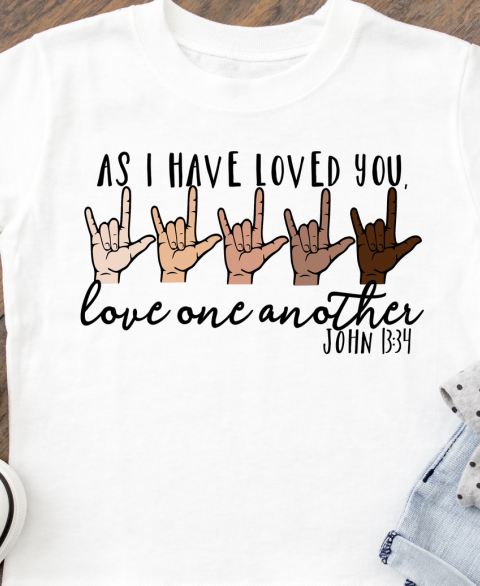 As I Have Loved You - John 13:34 (Youth)