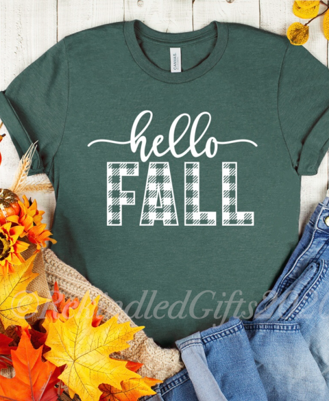 "Buffalo Plaid ""Hello Fall"""