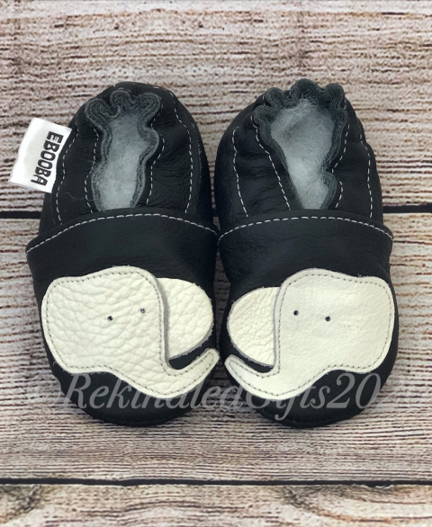 Kalu Elephant Soft-Soled Infant/Toddler Shoes