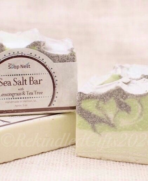 Sea Salt Lemongrass & Tea Tree
