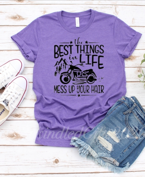 The BEST Things in Life, Mess Up Your Hair - Motorcycle