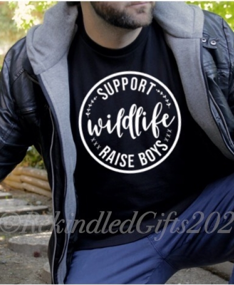 Support Wildlife - Raise Boys (Men's)