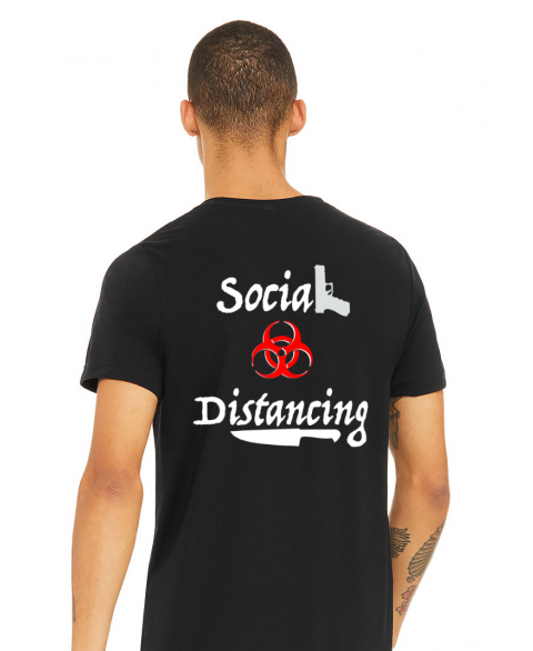 Social Distancing Movie Tee