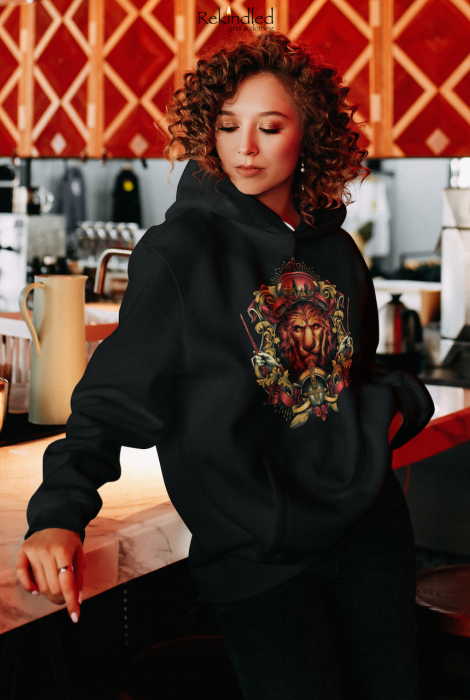 HP House of the Brave, Loyal, Wise, Cunning Hoodie