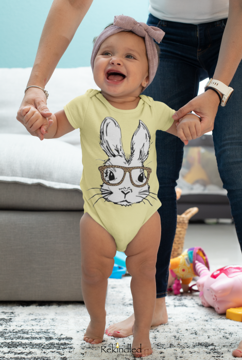 Bentley Bunny - Easter Snapsuit
