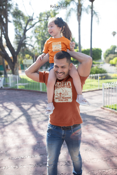 Daddy & Daughter Best Friends For Life