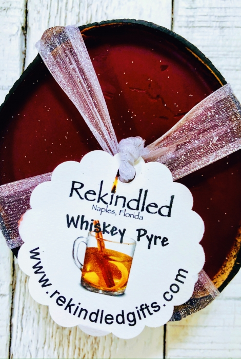 Whiskey Pyre Coconut Shell Candles