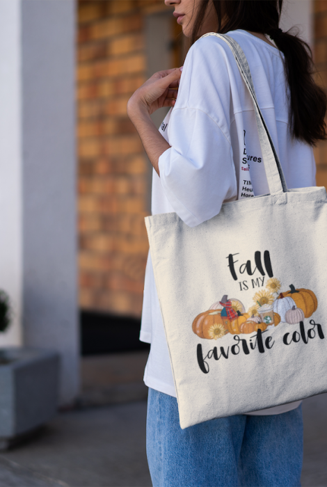 Fall Is My Favorite Color Tote