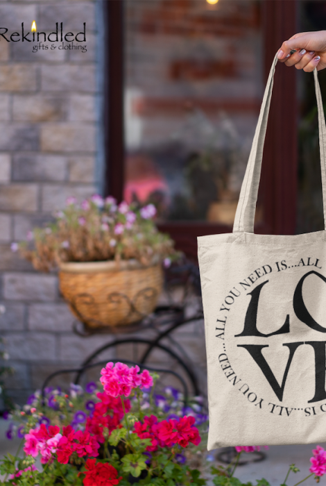 All You Need Is Love Tote