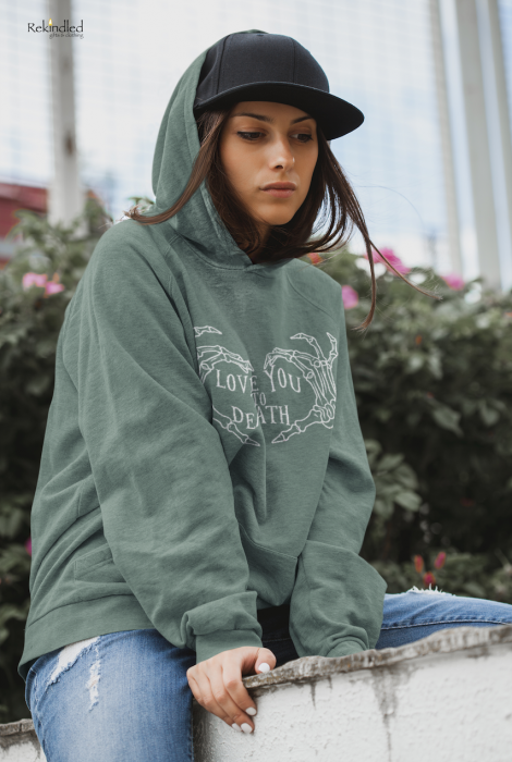 Love You TO Death Hoodie