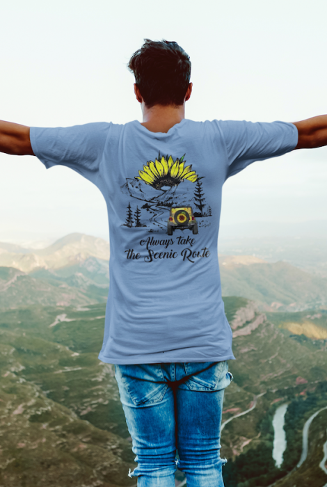Always take the Scenic Route Tee