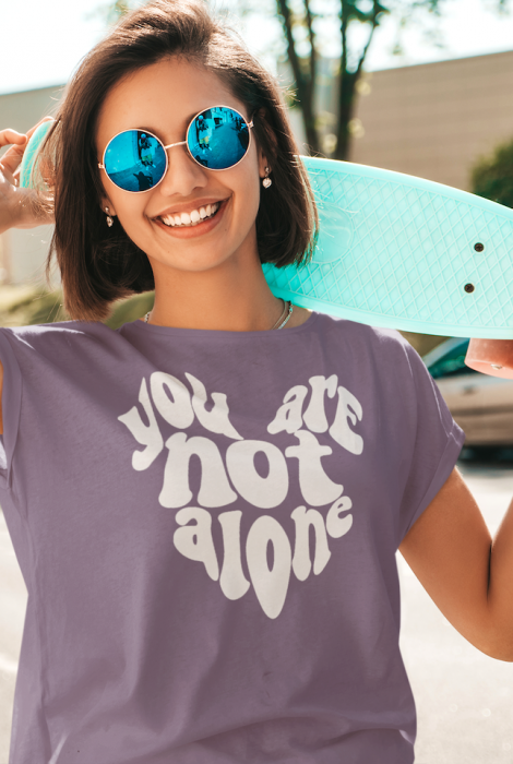 You Are Not Alone (MHA) Tee