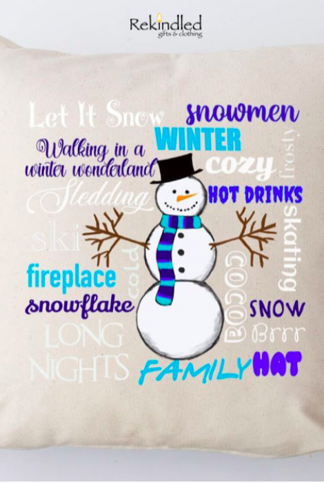Limited Edition - Snowman Typography