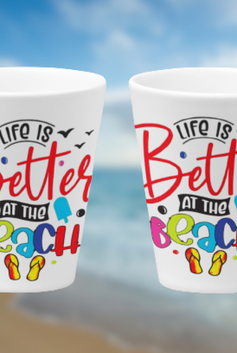 Life is Better at the Beach 11oz & 12oz Mugs