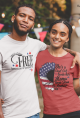 Land of the FREE because of the BRAVE Tee