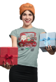 "Santa & Friends ""Merry Christmas"" Tee"