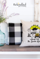 Always take the Scenic Route Pillow Cover