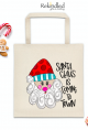 Santa Claus Is Coming To Town Tote