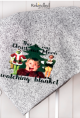 """""""This Is My Christmas Movie Watching"""" 50"""" x 60"""" Throw Blankets"""