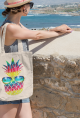 Summer Vibes Pineapple Tote