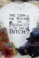 The Lion, The Witch, the Audacity of this Bitch